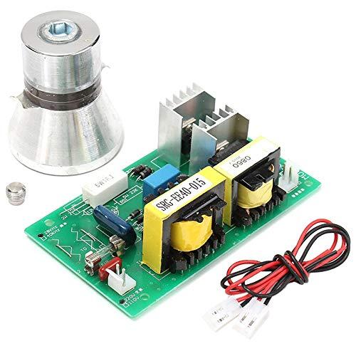 SODIAL 100W 28Khz Limpiador Ultrasónico Para Transductores De Limpieza Alto Rendimiento + Tablero De Conductor De Potencia 220Vac Ultrasónico Piezas De Limpieza