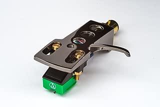 Titanium plated Headshell, mount, Audio Technica cartridge and Elliptical stylus, needle for Trio, KP-F515, L07D, KP-R305, KP-800, KP-3100, KP-R405, KP-M350, KD-5033, KP-4500, - MADE IN ENGLAND