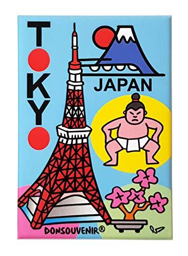DONSOUVENIR Tokyo KÜHLSCHRANKMAGNET. Tokyo Japan Magnet.
