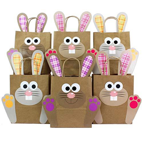 Papierdrachen DIY Osternester für Kinder mit Osterhasen in orange pink lila - Ostergeschenke für Kinder und Erwachsene - Osterdeko - Ostern 2020