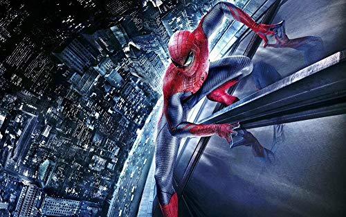 ZHEMO-Rompecabezas 1000 Piezas para Adultos Manualidades Decorativas para El Hogarpóster De Spiderman -Juegos Educativos El Regalo De Juguetes Es Extremadamente Desafiante