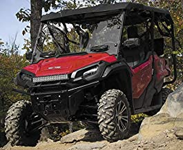 New Seizmik Vented Windshield (Double-Sided Polycarbonate) - 2016-2018 Honda Pioneer 1000 UTV