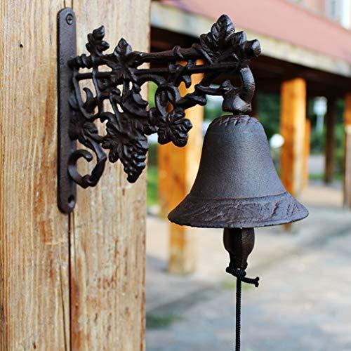CKH smeedijzeren deurbel van Scandinavisch pastorale stijl gietijzeren handklokken