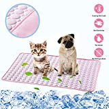 Best Cooling Dogs - LHRXTY Dog Cooling Mat Pet Self Cooling Sleep Review