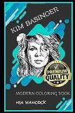 Kim Basinger Modern Coloring Book (Kim Basinger Modern Coloring Books)