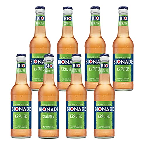 Bionade Kräuter 8 Flaschen je 0,33l