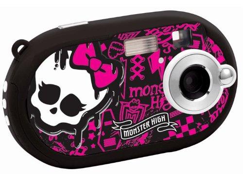 Lexibook DJ028MH Monster High - Cámara digital de 5 Mp (pantalla de 1.44', LCD, JPG, AVI)