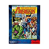AQUARIUS Marvel Avengers Puzzle (500 Piece Jigsaw Puzzle) - Officially Licensed Marvel Merchandise & Collectibles - Glare Free - Precision Fit - Virtually No Puzzle Dust - 14 x 19 Inches