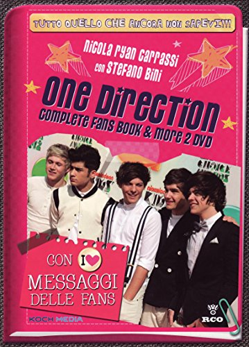 One Direction - Complete fans book & more (+libro) [2 DVDs] [IT Import]