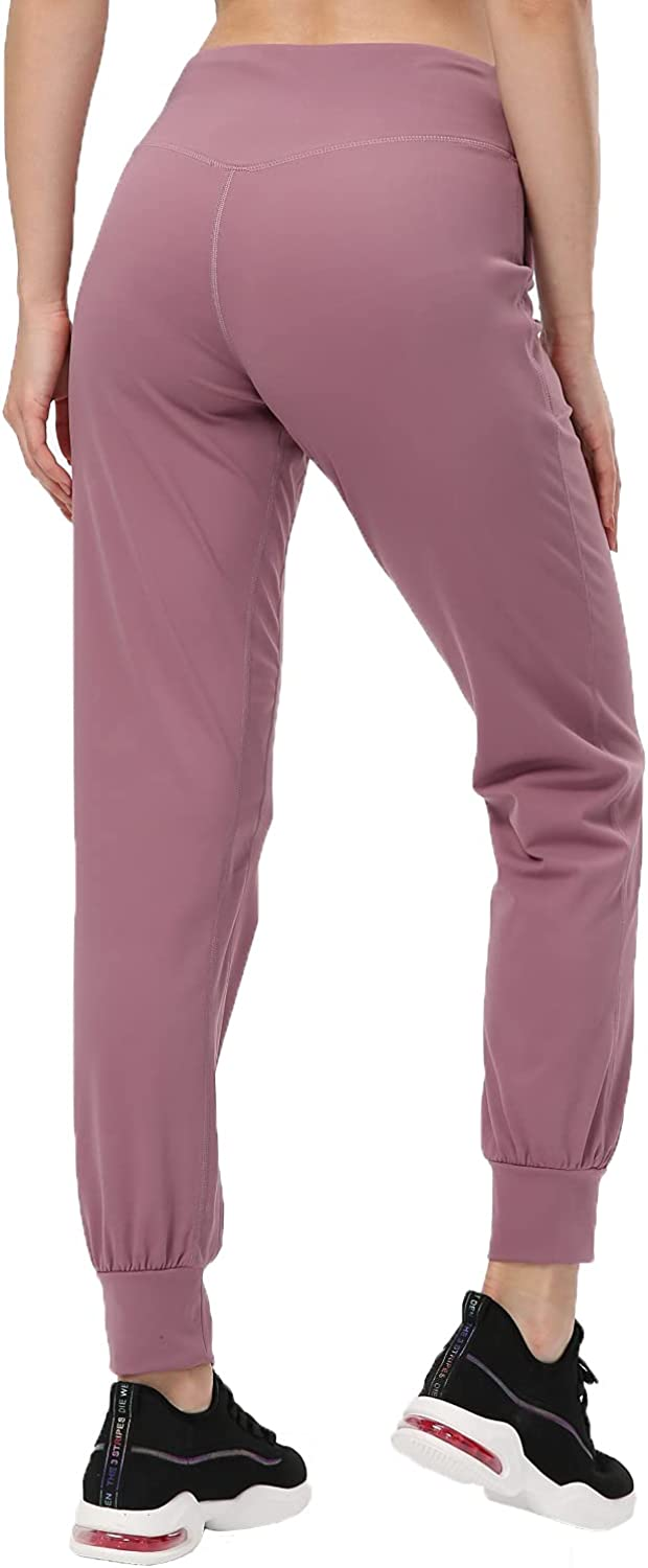 Meslong Women's High Super beauty product restock quality top Waisted Joggers Workout Pockets with Be super welcome Sports