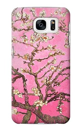 Pink Blossoming Almond Tree Van Gogh Case Cover Custodia per Samsung Galaxy S7