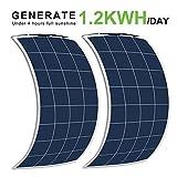 ECO-WORTHY 300 Watts Bendable Flexible Solar Panels