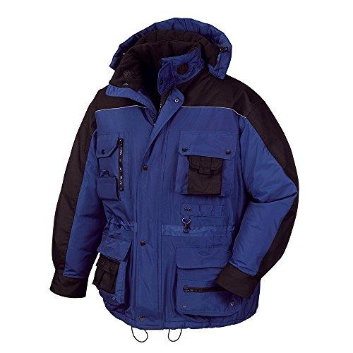 Texxor Arbeits Veste d'hiver Montréal coupe-vent et imperméable, bleu, 4192