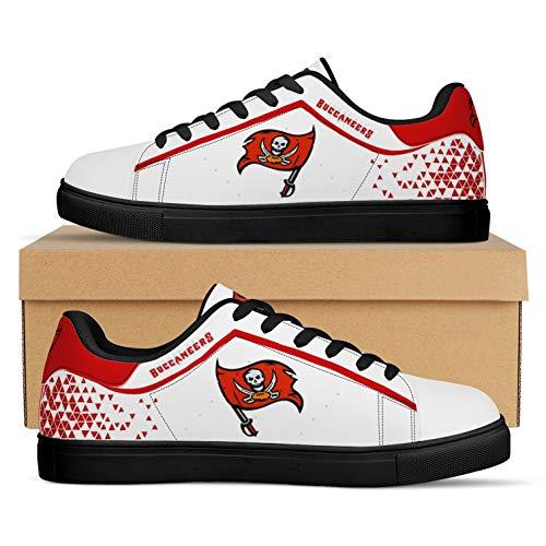 Jerseys Buccaneers Fans Zapatos Zapatillas American Football LeagueComo Fanáticos(Size:Women's shoes40,Color:G1)