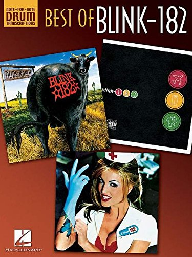 Best Of: Blink-182 (Drum Transcripts) (Note-For-Note Drum Transcriptions)