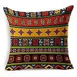 MAYUAN520 Zierkissen Vintage Baumwolle Afrika Geometrie Stripe Wave Polsterbezüge Böhmischen...