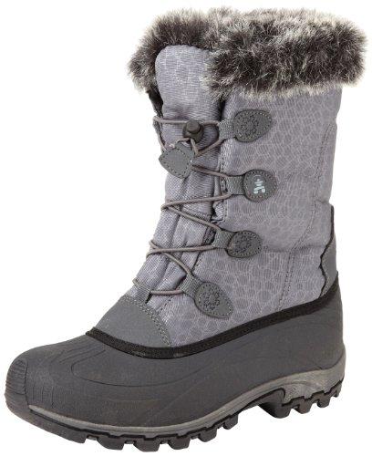 Kamik Women's Momentum Snow Boot,Charcoal,7 M US