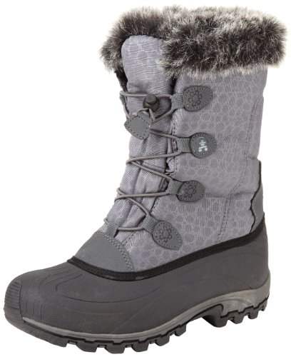 Kamik Women's Momentum Snow Boot,Charcoal,7 M US