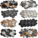 Coals 4 You 18 6 DIFFERENT COLOURS Gas Fire Replacement Ceramic Pebbles Replacements/Bio Fuels/Ceramic/Boxed (White BEIGE GREY BLACK BROWN DUCK EGG)