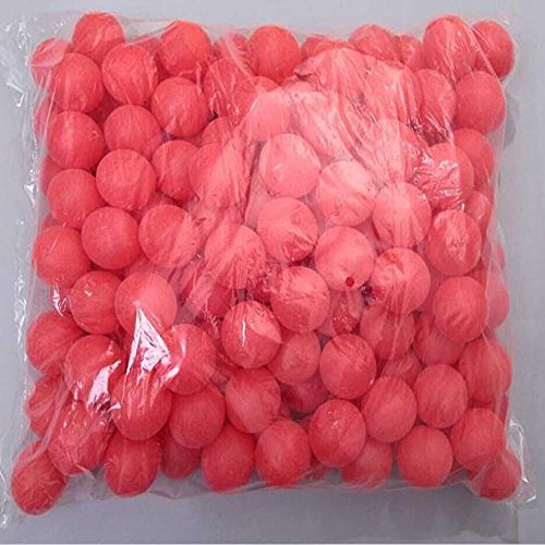 COFACE 150Pcs Scrub Mesa de Ping Pong Pelota de Ping Pong Bolas de la lotería sandía roja