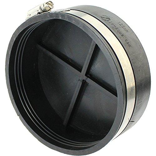 Koi Garden Flex-manchet Fitting 110 mm met kabelbinder, zwart