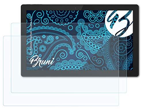 Bruni Schutzfolie kompatibel mit Trekstor Surftab Theatre S11 Folie, glasklare Bildschirmschutzfolie (2X)