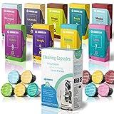 Gourmesso Reinigungskapseln Testbox – – 100 % Fairtrade – 9