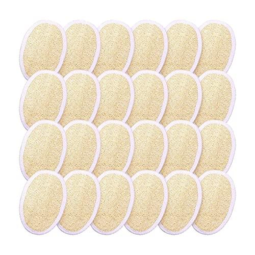 AQYYYDS 24 unids exfoliante esponja esponja esponja exfoliante cepillo limpio a la piel