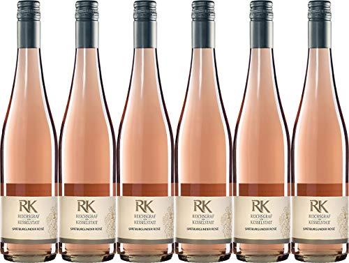 Reichsgraf von Kesselstatt GmbH RK Spätburgunder Rosé 2019 Trocken (6 x 0.75 l)