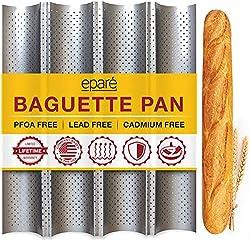 in budget affordable Baguette Bread – Italian Non-Stick Bread Bread 15 x 13″ – Long French Bread…