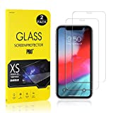 Screen Protector Film Compatible with iPhone 11, UNEXTATI Tempered Glass Screen Protector, HD Clear Screen Protector for iPhone 11, 2 Pack