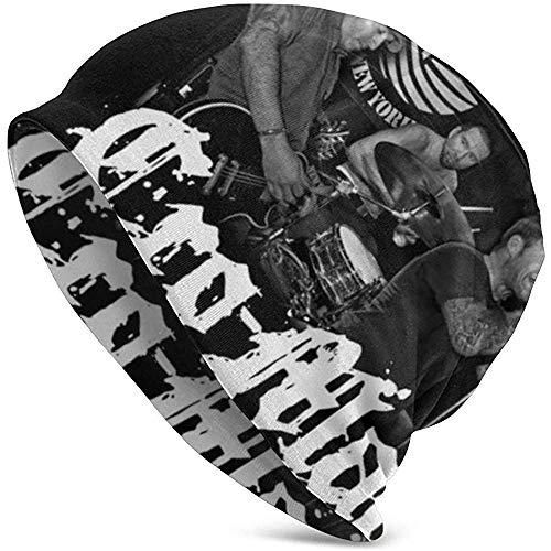 Mamihong Stilvolle Cro-Mags Adult Herren Strickmütze Muster Baggy Cap Hedging Kopf Hut Top Level Beanie Mütze 2369854-KMB-15163