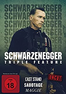 Schwarzenegger Triple Feature Uncut : The Last Stand - Sabotage - Maggie 3DVD