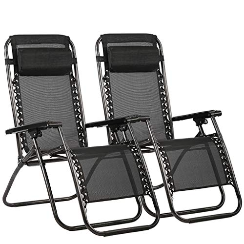 Zero Gravity Chair Patio Lounge Recliners...