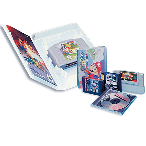 Unbekannt Game UNIVERSALHÜLLE passend für Nintendo DS,Gamecube, SNES,Sega,N64,Atari Spielmodule 50 Leerhüllen