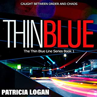 Thin Blue audiobook cover art