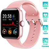 LIFEBEE Smartwatch Orologio Fitness Tracker Uomo Donna con TouchScreen Completo Impermeabile IP68...