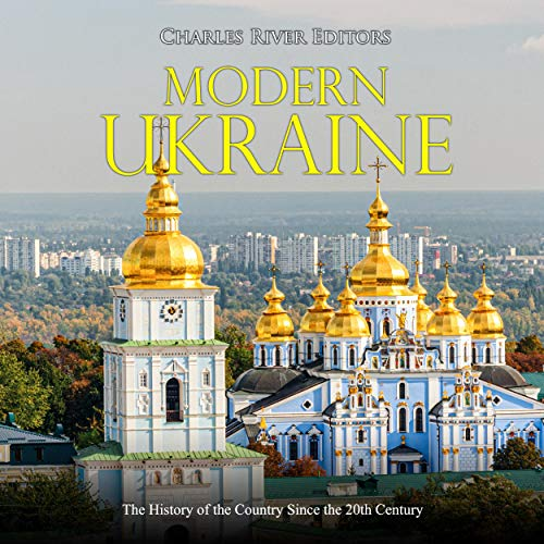 Modern Ukraine audiobook cover art