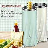 HAOT Cocedor de Huevos,Máquina para Hacer Rollos de Huevo Mini Style Calderas de Huevo Egg Steamer Multifunción Breakfast Maker, White
