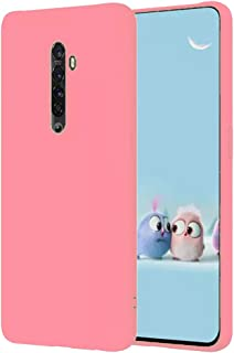 Matte Flexible Soft plastic Cover Protection Case for Oppo Reno2 F (Pink)