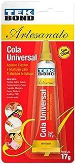 Cola Universal P/Artesanato Tekbond 17g Blister - 14201007004