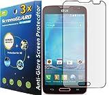 3x LG Optimus L90 D405 D415 (T-Mobile) Premium Anti-Glare Anti-Fingerprint Matte Finishing LCD Screen Protector Guard Shield Cover Kit (GUARMOR Brand)