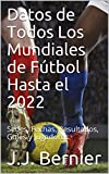 Datos de Todos Los Mundiales de Fútbol Hasta el 2022: Sedes, Fechas, Resultados, Goles y Jugadores.