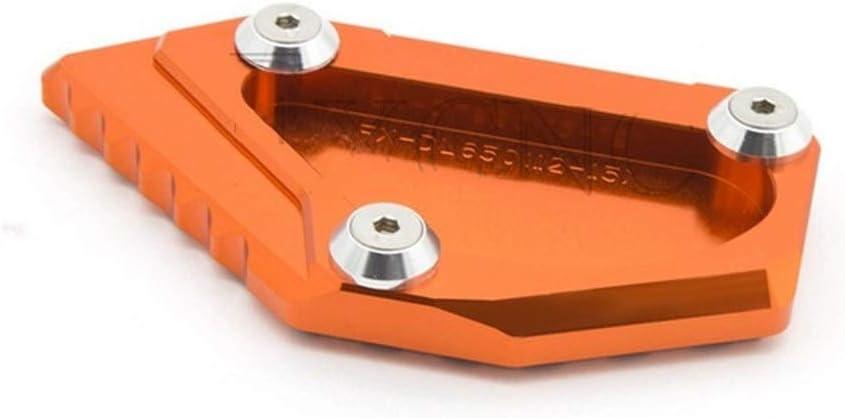 St/änder Motorrad-Side-Auflage-Platte St/änder CNC Aluninum//Fit for Suzuki DL650 V-Strom DL 650 VStrom Vergr/ö/ßerer Unterst/ützung Erweiterung Pads Color : Black