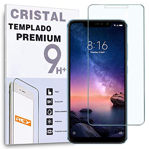 Protector de Pantalla para XIAOMI REDMI Note 6 Pro, Cristal Vidrio Templado Premium