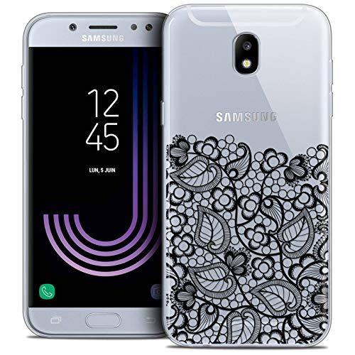 Samsung Galaxy J5 2017 5.2 Inch Case, Ultra Thin Spring Lace Bottom Black