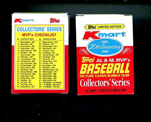 1982 Topps Baseball Card Kmart 20th Anniversary Complete Box Set K-Mart FROM CASE MINT