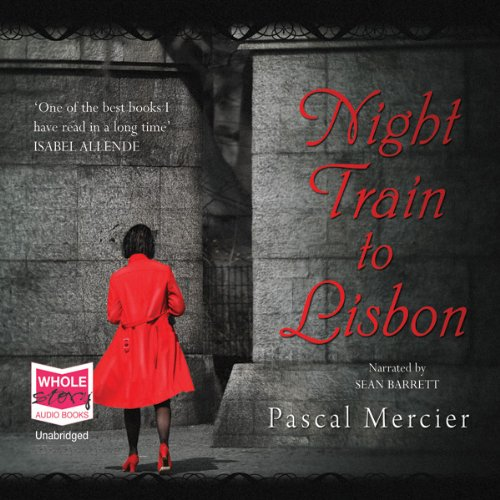 Night Train to Lisbon audiobook cover art