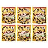 6er Pack Dr. Quendt Dinkelchen Zartbitter (6 x 85 g) Knabbergebäck Knabbersnack Knuspersnack DDR Ostprodukt