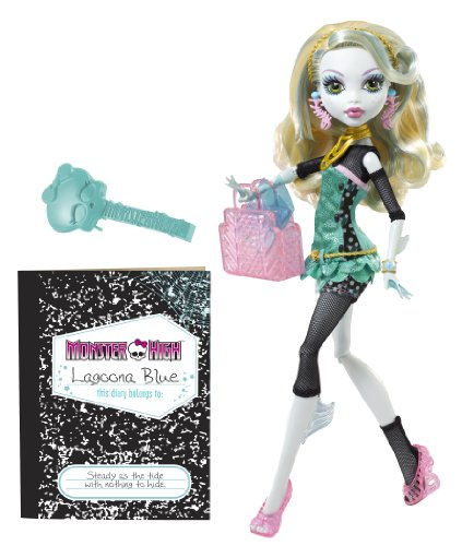 Monster High - W2822 - Poupée - Lagoona Blue